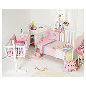 Clair De Lune Lottie & Squeek 2 Piece Set, Quilt & Bumper, Cot Bed