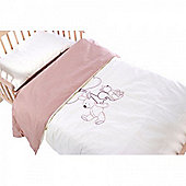 Saplings Cot Bed Quilt & Pillowcase Set - Woodlands