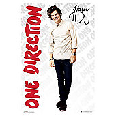 One Direction 1D Harry Maxi Poster, 92x61cm