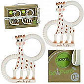 Sophie the Giraffe So Pure Teething Ring Duet
