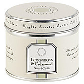 Tesco Apothecary Lemongrass and Cedarwood Candle in a Tin