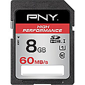 PNY High Performance 8 GB SDHC
