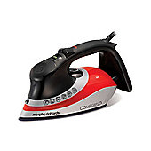 2400w Steam Iron with Ionic Soleplate in Red & Black