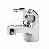 Ultra Eon Single Mono Basin Mixer Without Waste in Chrome