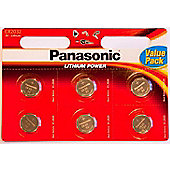 Panasonic CR2032 Battery - x6 Pack