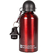 0.5L 500ml Metallic Water Drinks Drinking Bottle with Spout