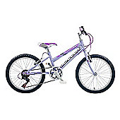 "Claud Butler CBR Glitter Kids' 20"" Wheel Purple Junior Bike"