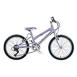 "Claud Butler CBR Glitter Kids' 20"" Wheel Purple Junior Bike"