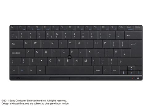 Wireless Bluetooth Keyboard (PS3)