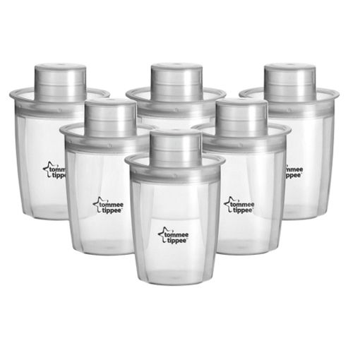 Tommee Tippee Closer To Nature Milk Powder Dispensers x6