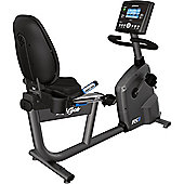 Life Fitness RS3 Lifecycle Step Through Recumbent Exercise Bike with GO Console + FREE INSTALLATION