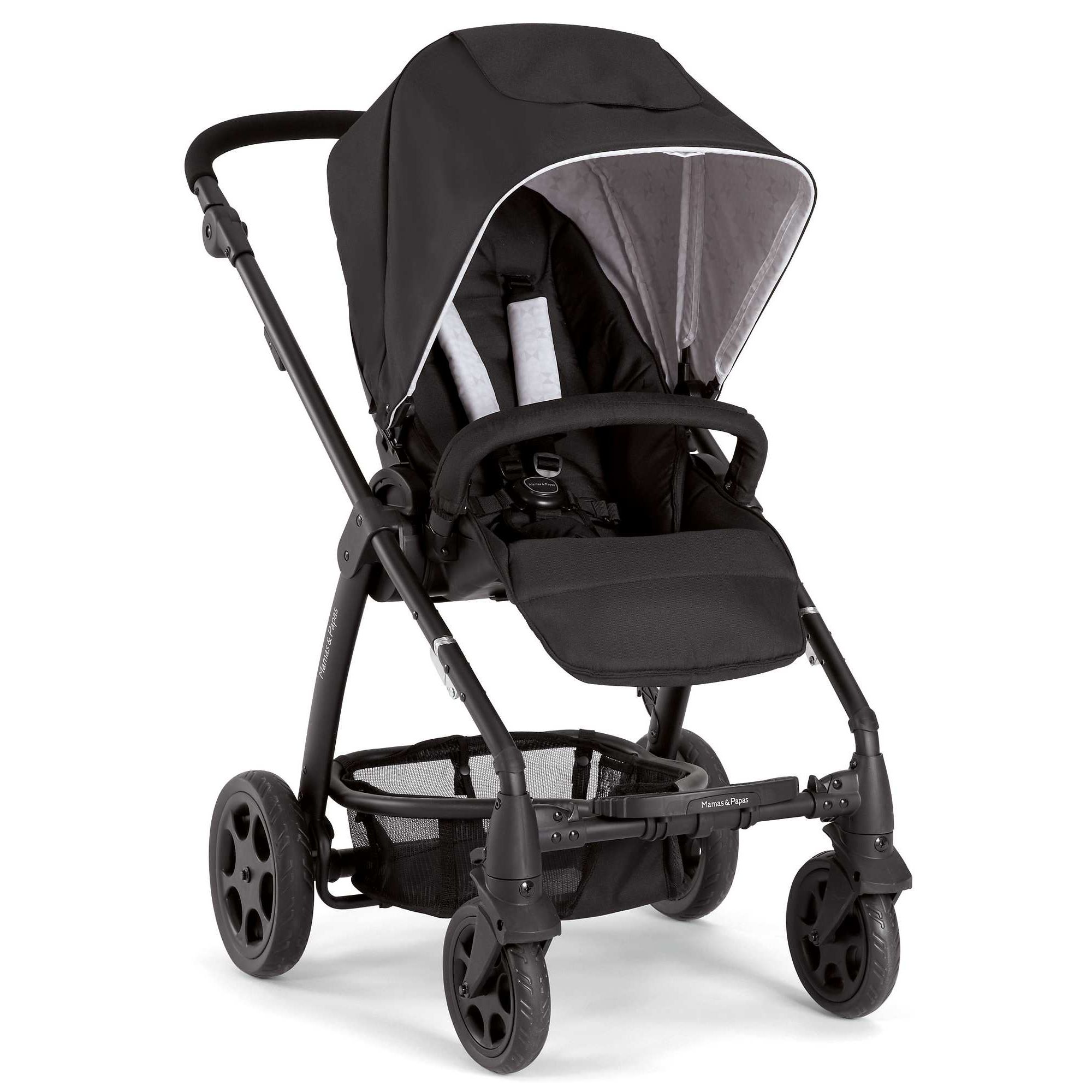 Mamas & Papas - Sola 2 in 1 - Jet Black at Tesco Direct