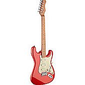Rocket S Series Vintage Electric Guitar -Red