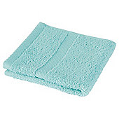 Tesco 100% Combed Cotton Face Cloth Spearmint