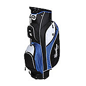 Confidence Pro Ii 14 Way Divider Golf Cart / Trolley Bag Blue