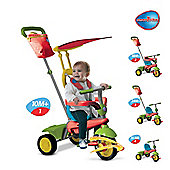 Smart Trike Joy Grn/Yel/Red