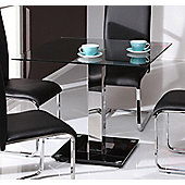 Wilkinson Furniture Glaze Dining Table - Clear Glass - Small