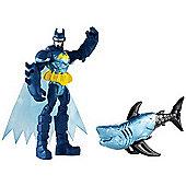 Batman Unlimited Figure - Batman and Shock Shark