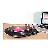 Quick Play Lp USB Powered Vinyl To MP3 Turntable