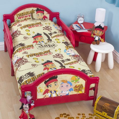 Jake And The Never Land Pirates Toddler/Junior Bed