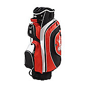 Confidence Pro Ii 14 Way Deluxe Golf Cart Trolley Bag Red