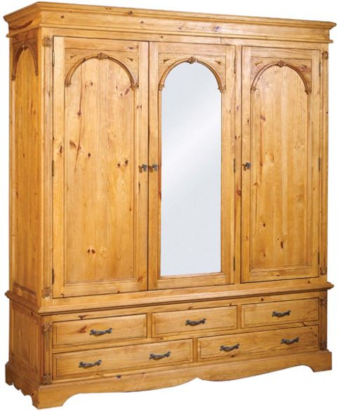 Regency Triple Wardrobe