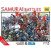 Historical War Game Samurai Battles - Commands & Colors And Art Of Tactic - 6413 - Zvezda