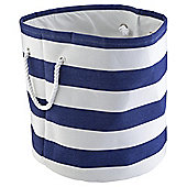 Tesco Blue Stripe Storage Bag