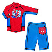 Ultimate Spiderman UV Shirt and Shorts 3 to 4 Years