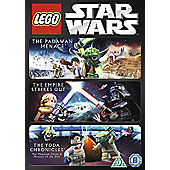 Star Wars Lego - Triple Collection DVD