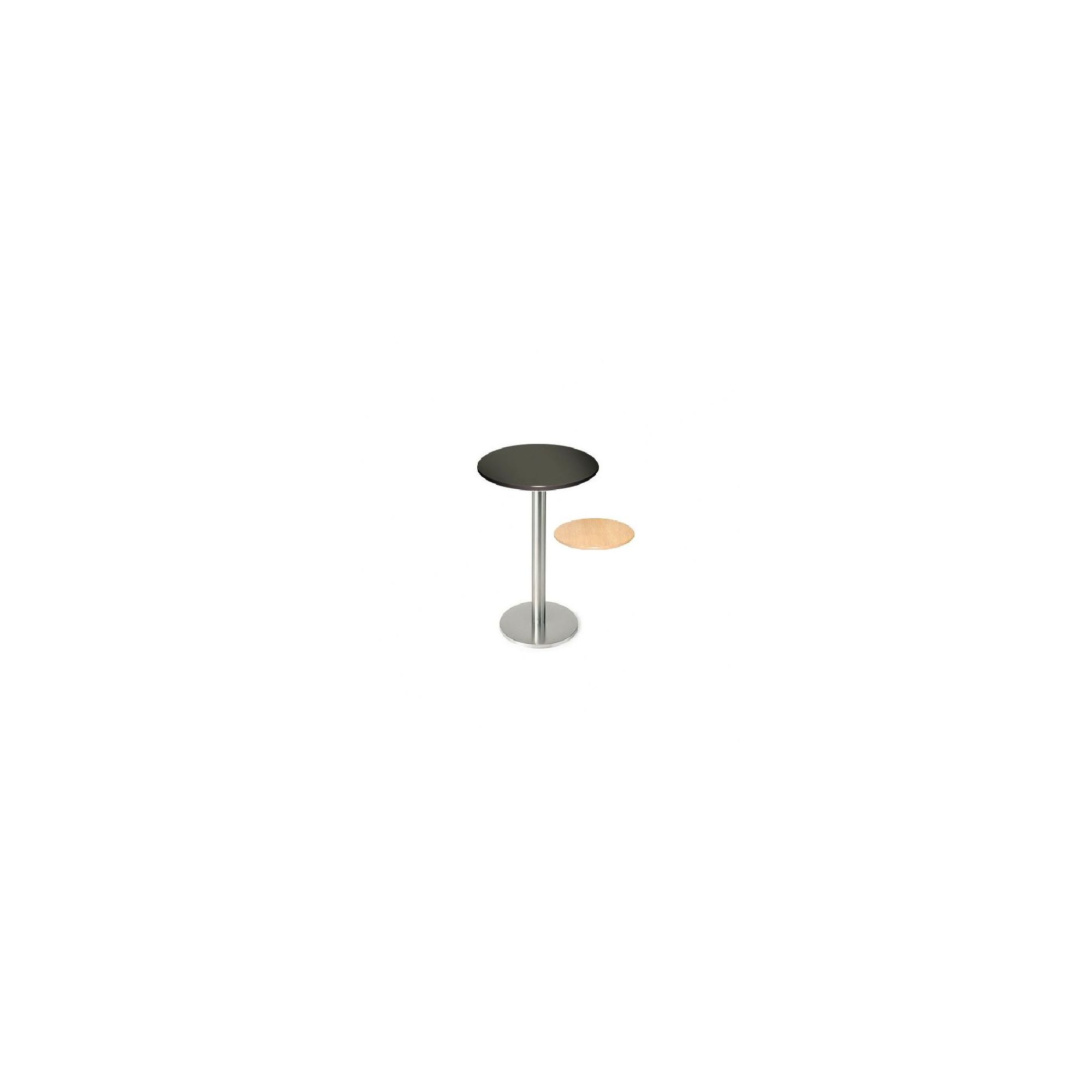 Pro Global Sicily Round Bar Table - Black at Tesco Direct