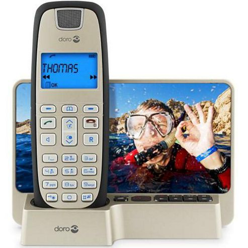 Doro DECT Telephone TAM Black Form 35