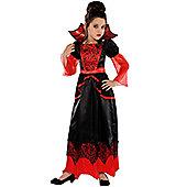 Amscan - Vampire Queen - Child Costume 9-10 years