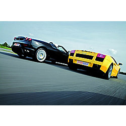 Four Supercar Driving Blast with High Speed Passenger Ride - Weekdays