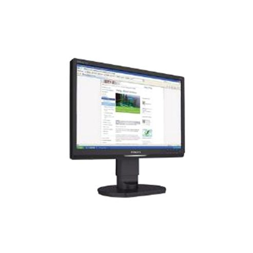 Philips (19 inch) LCD Monitor with LED Backlight 1440 x 900 (Black)