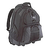 Targus Rolling Notebook Backpack - Black