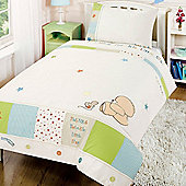 Forever Friends Little Star Cot Bed Duvet Cover & Pillowcase Set