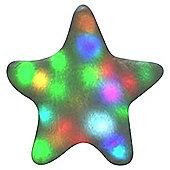 Bright Light Pillow White Twinkling Star