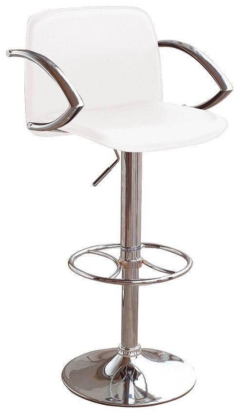 Premier Housewares Retro Faux Leather Bar Chair