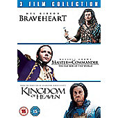 Braveheart / Master & Commander/Kingdom Of Heaven (DVD Boxset)