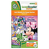 LeapFrog LeapReader Junior Book - Disney Minnie Mouse The Big Bow-Nanza