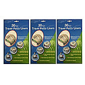 Disposable Travel Potty Liner 90 pack