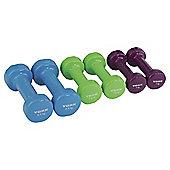 York Fitness 10kg Fitbell Set