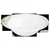 Seltmann Weiden Trio Bowl in White (Set of 2) - 7.5 cm H x 24 cm W x 24 cm D