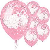 Balloons - Christening - Pink (5pk)
