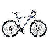 "18"" Whistle Miwok 1382D Mens' Bike, Blue/White"