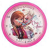 Disney Frozen Bedroom Wall Clock