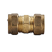 Basic 023957 Compression Straight Coupler 15mm