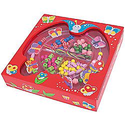 Bigjigs Toys BJ708 Butterfly Bead Box