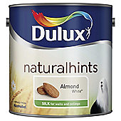 Dulux Silk Emulsion Paint, Almond White, 2.5L